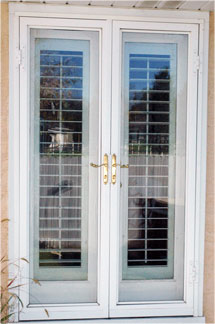 Stonegate door st george utah security storm and screen for French door screen options